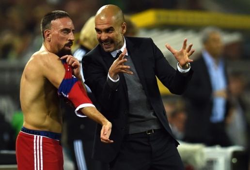 Ribery lên tiếng mỉa mai người thầy cũ Pep Guardiola