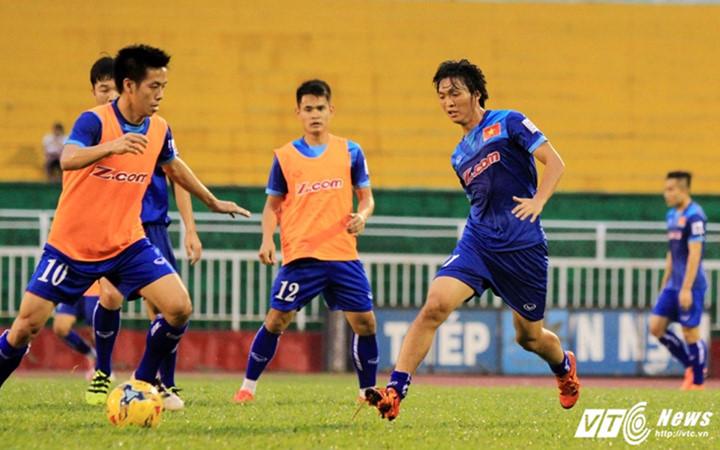 Bên cạnh đó đội tuyển VN cũng tích cực luyện tập cho giải đấu giao hữu sắp tới