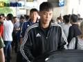 Cầu thủ cảu Triều Tiên lặng lẽ bước ra