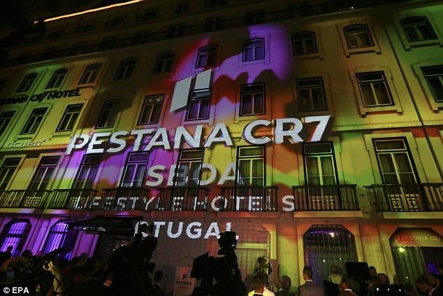 Khách sạn thứ 2 Pestana CR7 Lisboa của Ronaldo