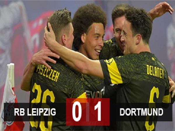 RB Leipzig 0-1 Dortmund: Tái lập khoảng cách